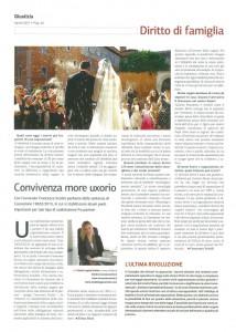 Convivenza more uxorio